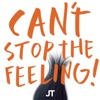 Can t Stop The Feeling artwork