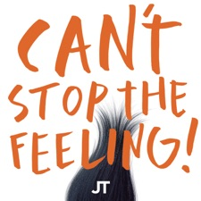 Can't Stop The Feeling artwork