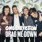 One Direction - Drag Me Down Grafik