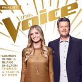 There's a Tear In My Beer (The Voice Performance) - Lauren Duski & Blake Shelton Cover Art