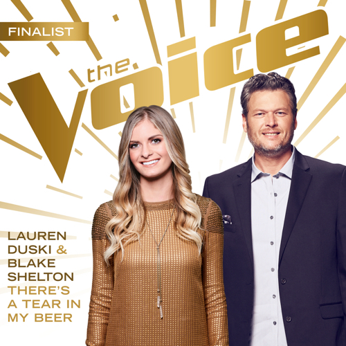 Lauren Duski & Blake Shelton - There's a Tear In My Beer