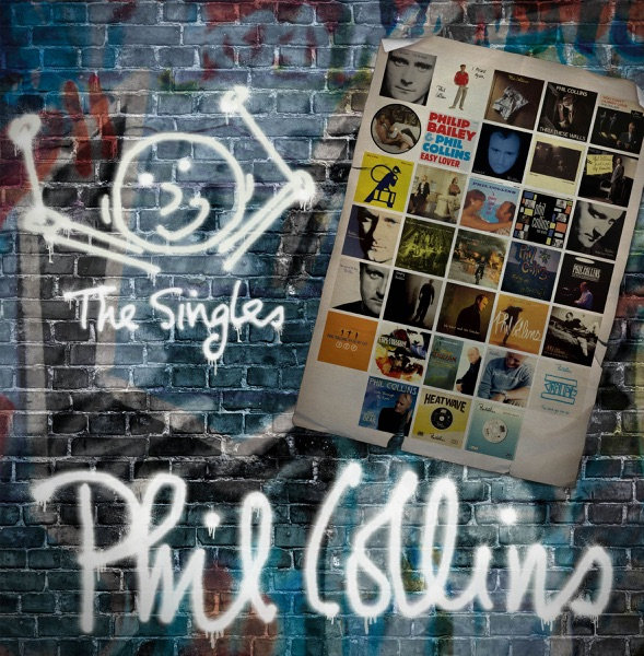 The Singles Phil Collins CD cover