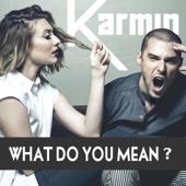 Karmin - What Do You Mean? artwork