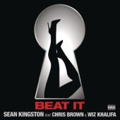 Sean Kingston - Beat It (feat. Chris Brown & Wiz Khalifa) artwork