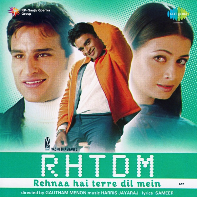 rehna hai tere dil mein songs download 320kbps