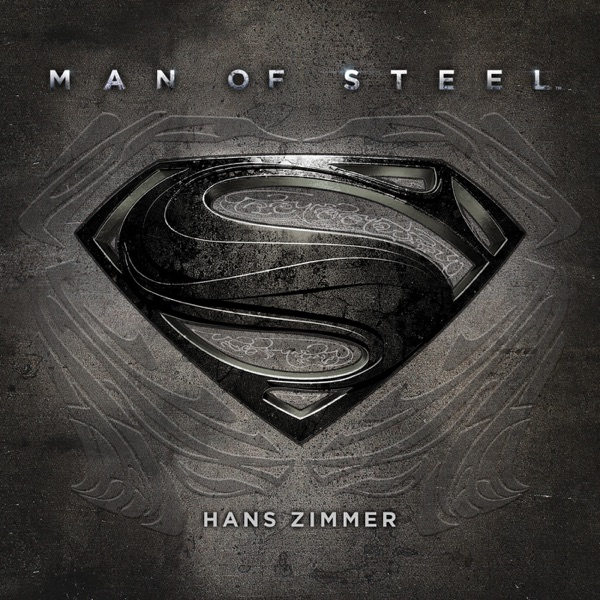 Man of Steel Original Motion Picture Soundtrack Deluxe Edition Hans Zimmer CD cover