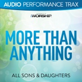 More Than Anything (Audio Performance Trax) cover art