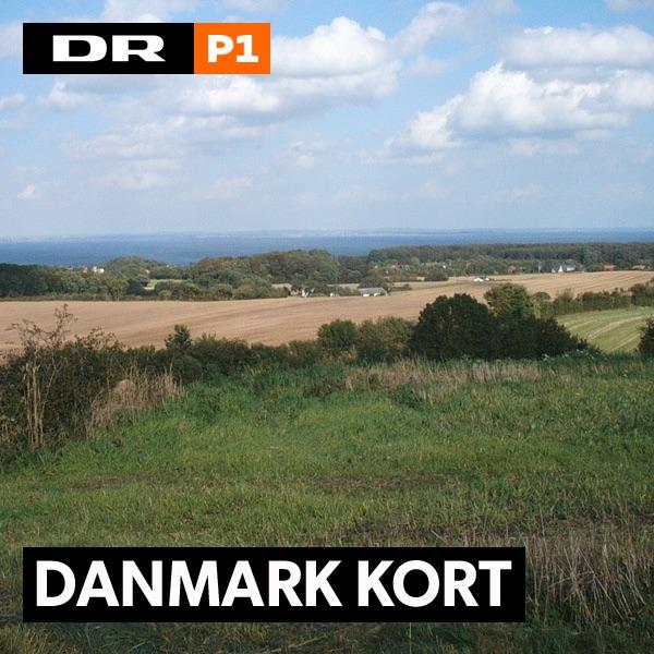 Danmark kort