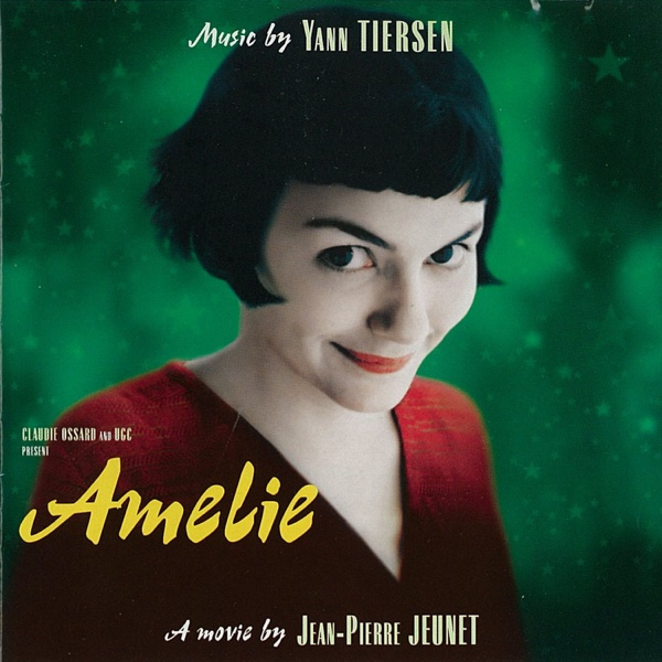 Amélie Original Soundtrack Yann Tiersen CD cover