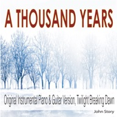 John Story - A Thousand Years (Instrumental Piano & Guitar Version) [From
