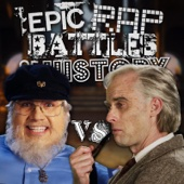 J. R. R. Tolkien vs George R. R. Martin - Single cover art