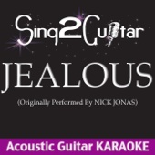 Jealous (Originally Performed By Nick Jonas) [Acoustic Guitar Karaoke] - Sing2Guitar