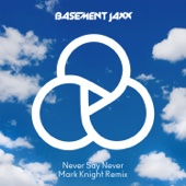Never Say Never (Mark Knight Remix) - Single cover art
