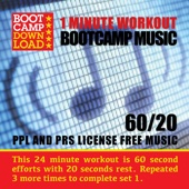 60 / 20 HIIT 1 Minute Workout Circuit Training Bootcamp Music (PPL & PRS License Free Music)