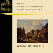 "Piano Sonata No. 14 in C-Sharp Minor, Op. 27/2 ""Moonlight"": I. Adagio sostenuto - Wilhelm Backhaus"