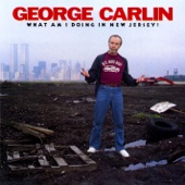 Cover to George Carlin's What Am I Doing In New Jersey?