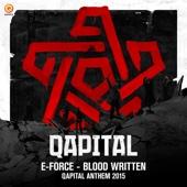 Blood Written (Qapital Anthem 2015) - Single cover art