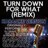 Turn Down For What (Remix) [Karaoke Instrumental Version] [Originally Performed By DJ Snake, Lil Jon, Juicy J, 2 Chainz & French Montana]