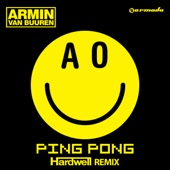 Ping Pong (Hardwell Remix) - Single cover art