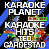 Karaoke Hits Ted Gärdestad (Karaoke Version) - EP