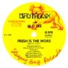 Fresh Is the Word - Single, M.C. Tee & Mantronix