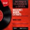 Massenet: Manon, extraits (Mono Version) - EP