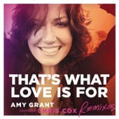 That's What Love Is For (feat. Chris Cox) [Radio Edit] Amy Grant