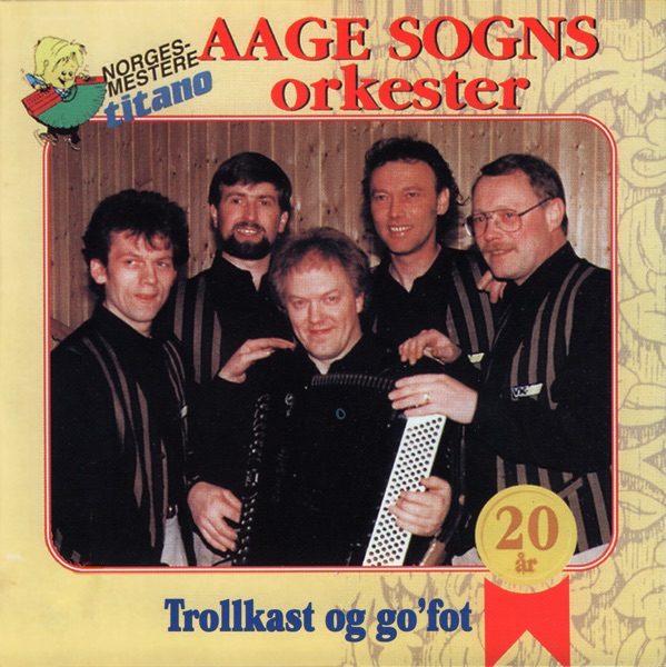 Trollsving Og Kast Aage Sogns Orkester CD cover