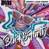 Back and Forth (Henry Land Remix) - Single cover art