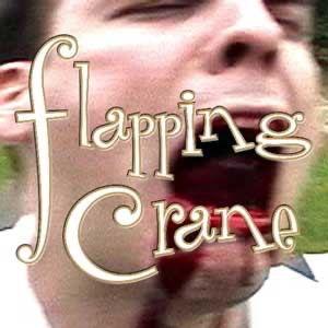 Flapping Crane