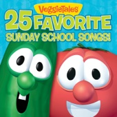 25 Favorite Sunday School Songs! - VeggieTales Cover Art