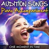 One Moment In Time ('Whitney Houston' Piano Accompaniment) [Professional Karaoke Backing Track]
