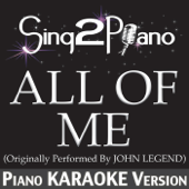 [Download] All of Me (Originally Performed By John Legend) [Piano Karaoke Version] MP3