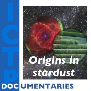A search for our origins in stardust: Imaginary journeys in the cosmos and into our past