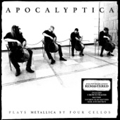Plays Metallica by Four Cellos (Remastered) - Apocalyptica Cover Art