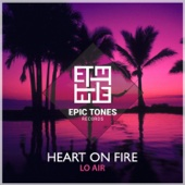 Lo Air - Heart on Fire artwork