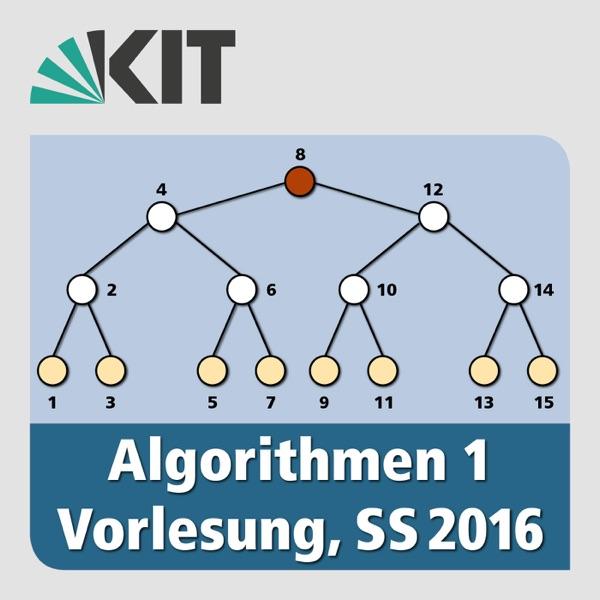 Algorithmen 1, SS2016, Vorlesung