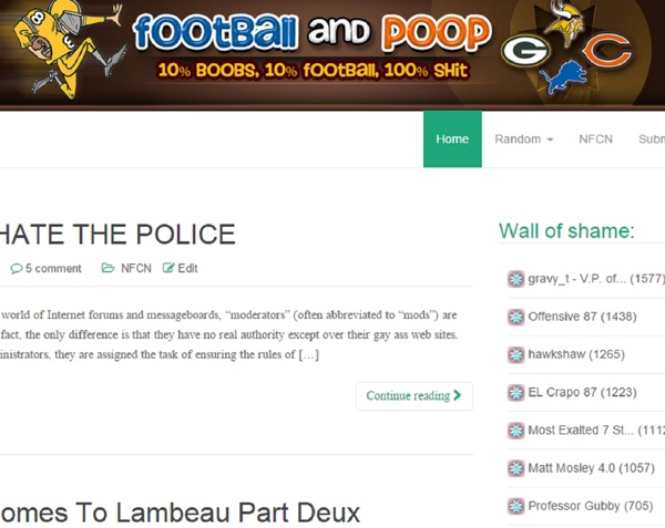 Football and Poop Podcast