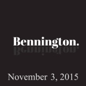 Ron Bennington - Bennington, Paul Feig, November 3, 2015  artwork