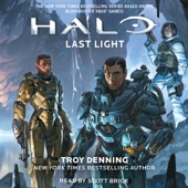 Troy Denning - Last Light: HALO, Book 16 (Unabridged)  artwork