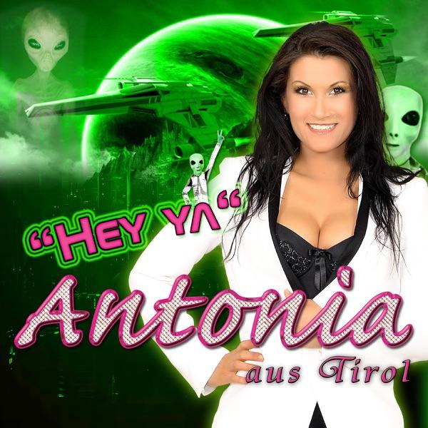 Antonia aus Tirol Hey ya - EP Album Cover