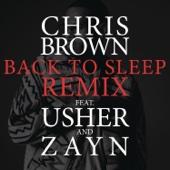 Back to Sleep (REMIX) [feat. Usher & ZAYN] - Chris Brown Cover Art