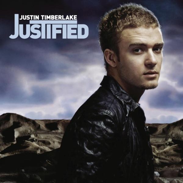 Justified Justin Timberlake CD cover