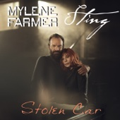 Mylène Farmer & Sting - Stolen Car artwork