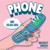 Mickey Singh & UpsideDown - Phone artwork