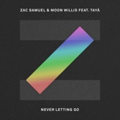 Zac Samuel & Moon Willis - Never Letting Go (feat. Taya) artwork