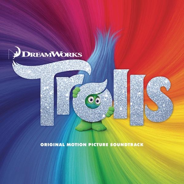 Trolls Original Motion Picture Soundtrack Various Artists CD cover