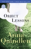 Object Lessons - Anna Quindlen Cover Art
