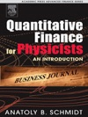 Quantitative Finance For Physicists