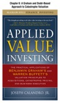 Applied Value Investing Chapter  - 6 A Graham And Dodd--Based Approach To Catastrophe Valuation